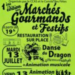 Marchés Gourmands et Festifs
